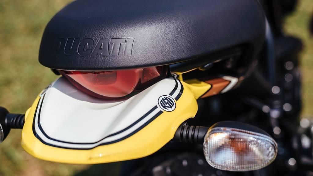 Ducati Scrambler Mach 2.0 Tail detail
