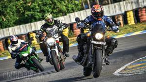 Ducati Monster 797 vs Harley-Davidson Street Rod vs Kawasaki Ninja 650