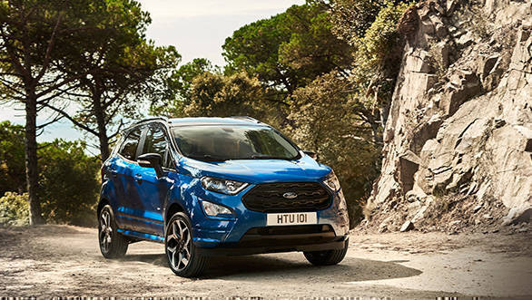 Ford Ecosport Facelift Image Gallery