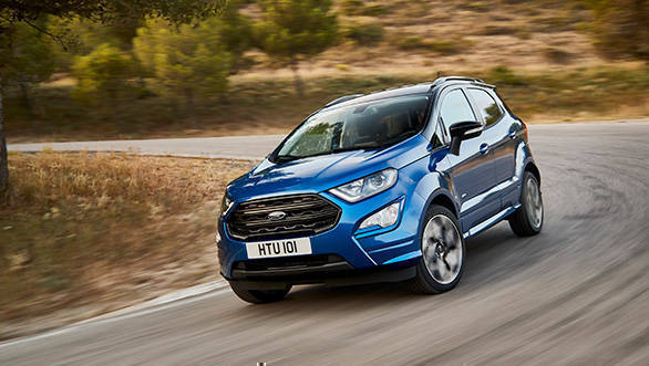 Ford EcoSport facelift adds AWD option, ST-Line confirmed