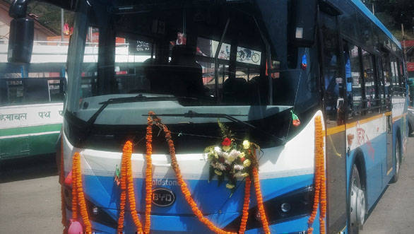 Goldstone eBuzz K7 is the first India-made electric bus to hit Indian roads