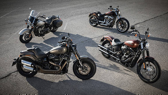 2018 Harley-Davidson Fat Boy, Fat Bob, Street Bob and Heritage Softail Classic launched in India
