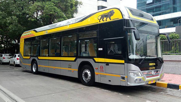 Hybrid AC buses to run to Mumbai's BKC from nearby railway stations before October