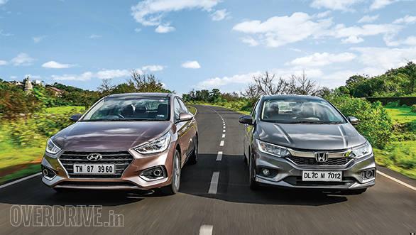 Comparison 2017 Hyundai Verna Petrol At Vs Honda City Petrol Cvt