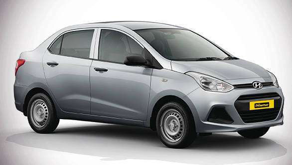 Hyundai Xcent Prime Taxi Available With Factory Fitted Cng In India