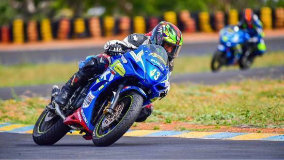 2017 Suzuki Gixxer Cup: Lalhruaizela wins 2017 Red Bull Road to Rookies Cup