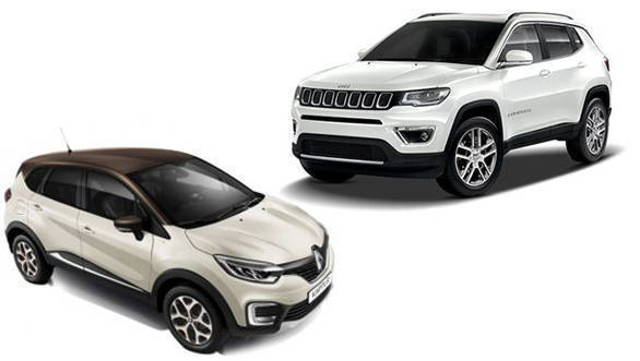 Renault Captur or Jeep Compass, the SUV that you should consider