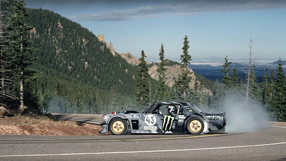 Video worth watching: Ken Block has a new Climbkhana at Pikes Peak