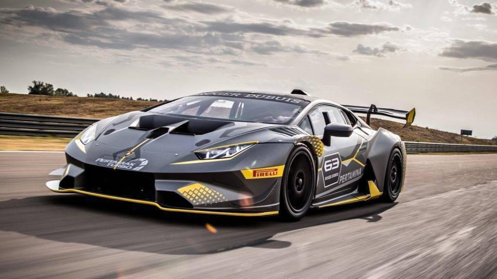 Lamborghini Huracan Super Trofeo Evo racecar revealed