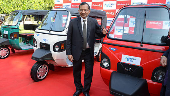 Mahindra e-Alfa Mini electric rickshaw launched at Rs 1.12 lakh