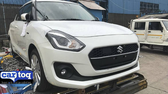 32kmpl Maruti Suzuki Swift hybrid spotted in India