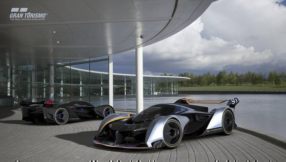 McLaren Ultimate Vision Gran Turismo built exclusively for Gran Turismo Sport