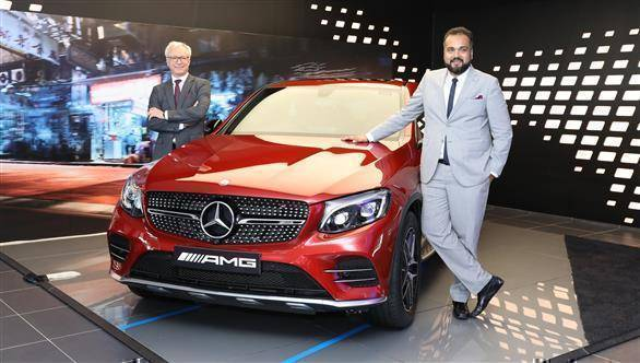 mercedes benz inaugurates largest luxury car dealership of goa overdrive. Black Bedroom Furniture Sets. Home Design Ideas