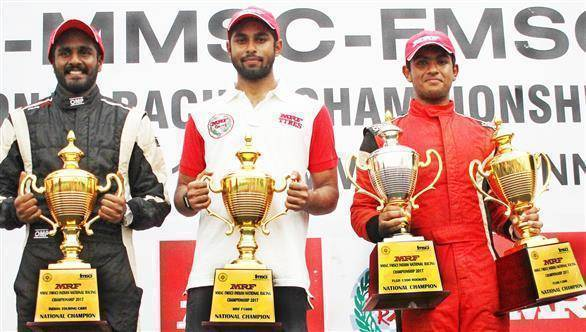 2017 MRF MMSC FMSCI NRC Rd 5: Arjun Narendran wins ITC Championship