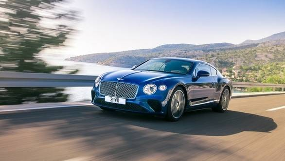 Bentley Continental GT First Glimpse Revealed Ahead Of Frankfurt Debut
