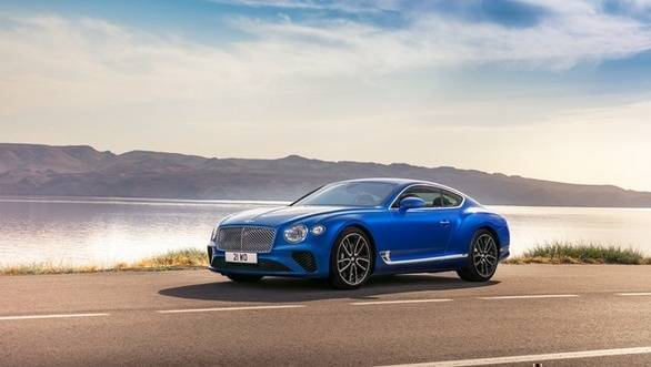 Image gallery: 2018 Bentley Continental GT