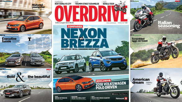 The October 2017 issue of OVERDRIVE is now out on stands!