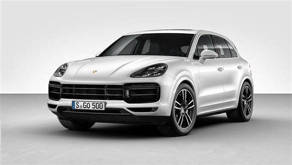 2017 Frankfurt Motor Show: 2018 Porsche Cayenne Turbo with 557PS twin-turbo V8 unveiled