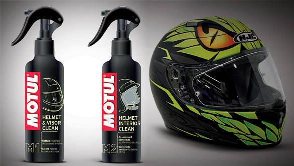 Product review: Motul M1 helmet and visor cleaner, Motul M2 helmet interior cleaner