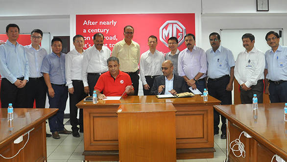 MG Motor India finishes acquisition of GM's Halol plant