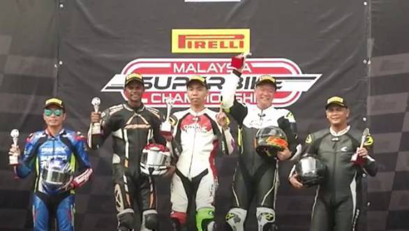 2017 Malaysian Superbike Championship: Double podium for K Rajini at Round 4 at Sepang