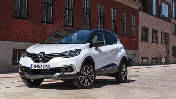 Renault Captur bookings in India to start from September 22