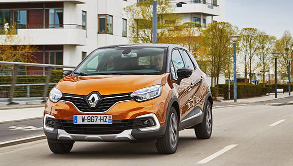 Renault Captur SUV teased. Premium SUV India unveil on September 21, 2017
