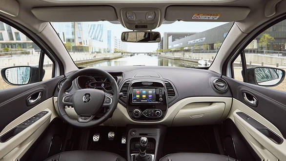renault captur design features and specifications overdrive. Black Bedroom Furniture Sets. Home Design Ideas