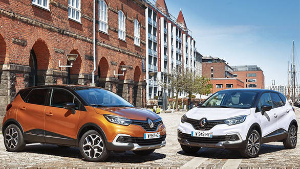 Renault Captur will be the first of the new products that Renault India will launch this year
