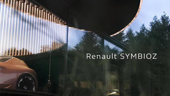 Renault Symbioz autonomous EV concept teased ahead of Frankfurt debut