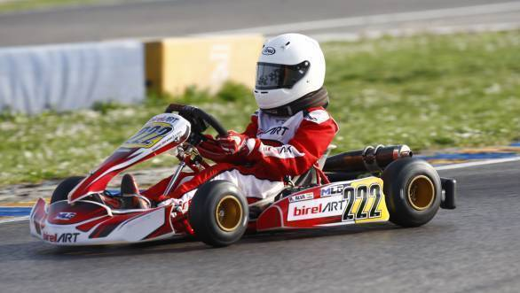 Ruhaan Alva crowned Easykart 60 vice champion