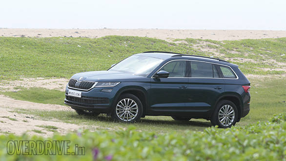 Skoda Kodiaq first drive review image gallery