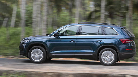 2017 skoda kodiaq suv bookings start in india for rs 3. Black Bedroom Furniture Sets. Home Design Ideas