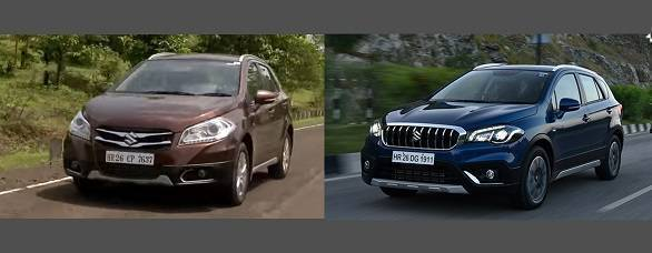 New Maruti Suzuki S-Cross facelift vs old S-Cross in images