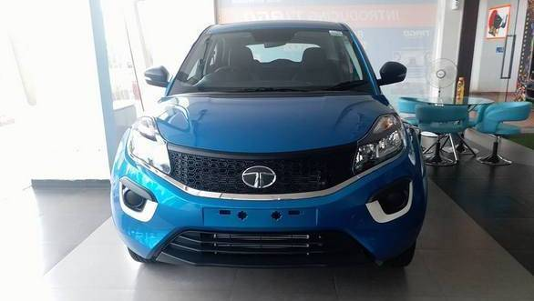 Tata Nexon XE spotted at dealership in India ahead of launch