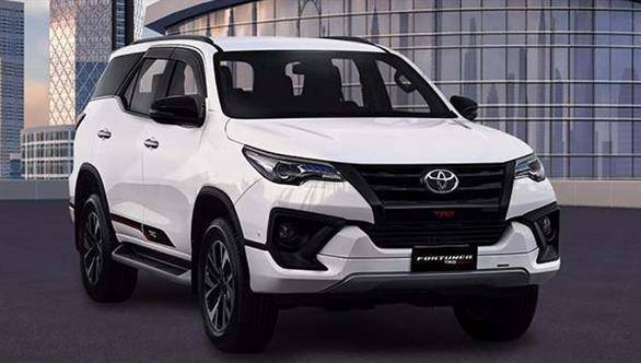 Toyota Fortuner TRD Sportivo edition SUV launch in India soon