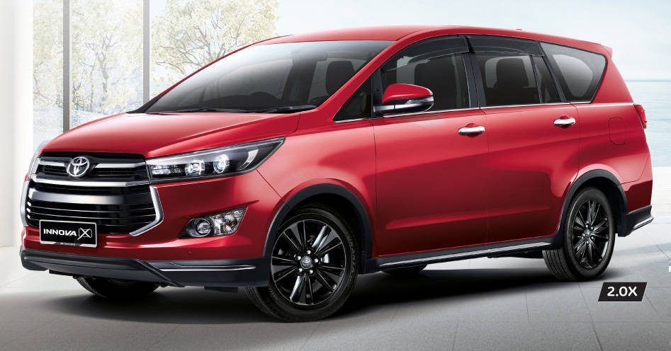 Toyota Innova 2.0X launched in Malaysia, new top variant of the Crysta model
