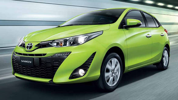 2017 Toyota Yaris facelift revealed in Thailand