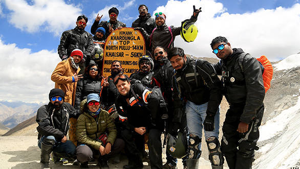 UM motorcycle owners complete first ROAR ride to Leh