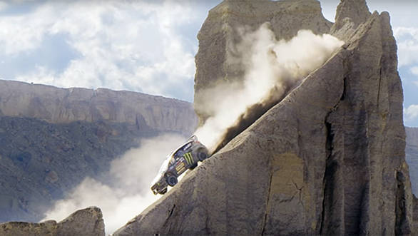 Video worth watching: Ken Block hits the dirt in Terrakhana