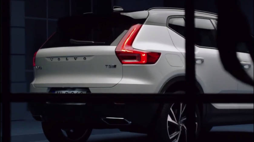 Volvo XC40 Rear 3/4 via CarScoops