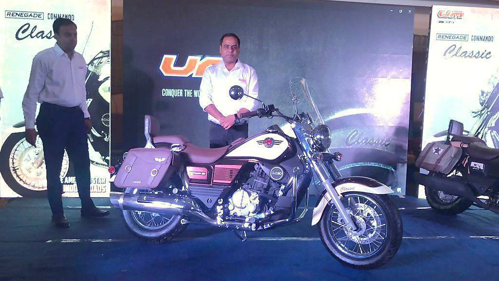 UM Renegade Classic motorcycle launched