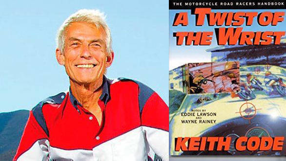 Keith Code, founder California Superbike School, Cover of his book, Twist of the Wrist