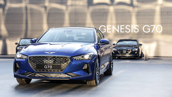 Genesis G70 not coming to India