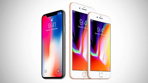 New Apple iPhone X, iPhone 8 and iPhone 8S