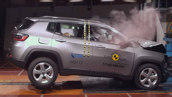 Jeep Compass scores 5-star rating in Euro NCAP crash test