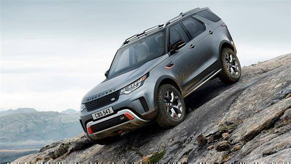 2017 Frankfurt Motor Show: Land Rover Discovery SVX ultimate off-roader revealed