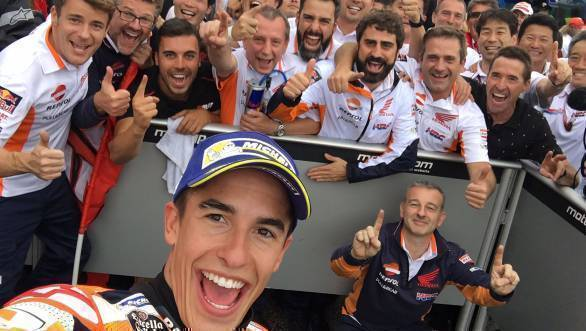 MotoGP 2017: Marquez ties for championship lead after Misano win