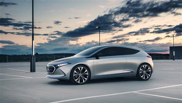 2017 Frankfurt Motor Show: Mercedes Benz Concept EQA comes to light