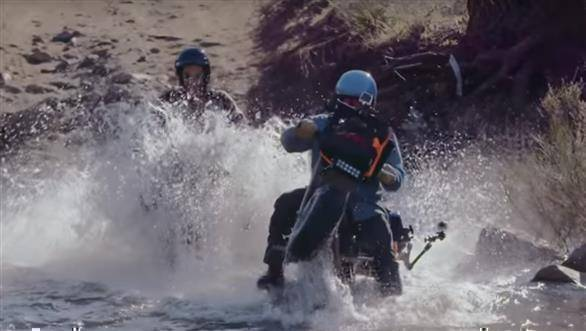 Video worth watching: Big adventure on mini bikes